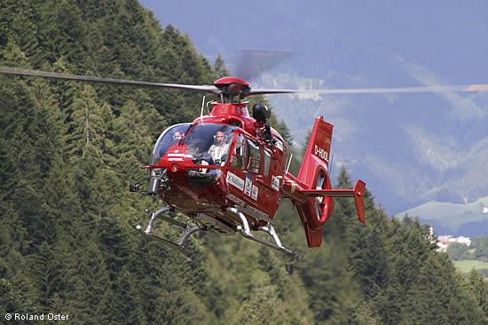 Elicottero Ortisei : Equipaggio elicottero aiut alpin dolomites soccorso