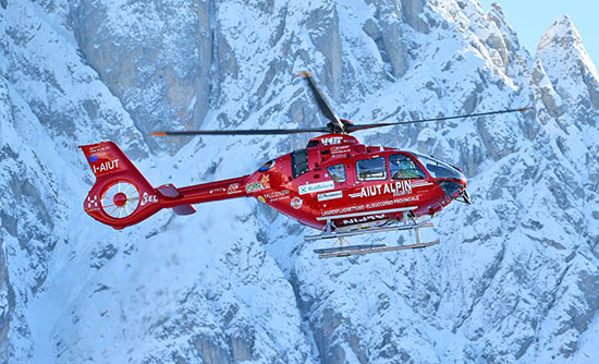 Aiut Alpin Dolomites Airbus Helicopters H 135 T3